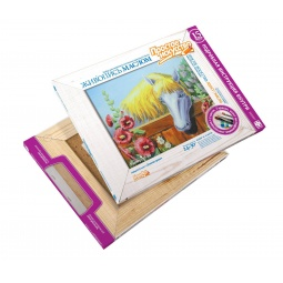фото Набор для живописи масляными красками Фантазер «Золотая грива»