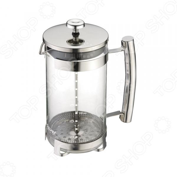 Френч-пресс Endever EcoLife FP-1007SФренч-прессы<br>Френч-пресс Endever EcoLife FP-1007S используется для приготовления чая и кофе путем настаивания и последующего отжима заваренного напитка при помощи специального поршня. Корпус модели выполнен из нержавеющей стали, а колба из, устойчивого к перепадам температур, стекла толщиною 2 мм. Поршень, в свою очередь, изготовлен из, отвечающей всем гигиеническим нормам, медицинской стали. Носик френч-пресса имеет особую форму, препятствующую образованию подтеков. Для приготовления напитка вам необходимо:  засыпать в колбу френч-пресса чай, кофе или травы;  залить содержимое горячей водой;  дать напитку настояться в течение нескольких минут;  опустить поршень и подождать пока осадок опустится на дно.<br>