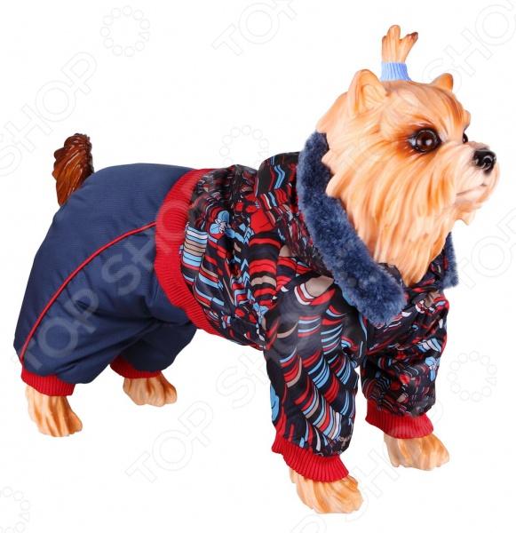 Комбинезон для собак DEZZIE 563567 триол комбинезон зимний микки для собак trio l