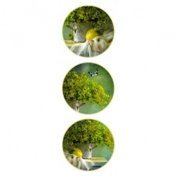 Купить Набор тарелок настенных Феникс-Презент 36263. Уцененный товар