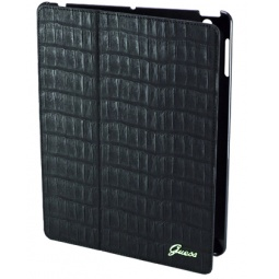 фото Чехол Guess Folio Case Croco для New iPad. Цвет: черный