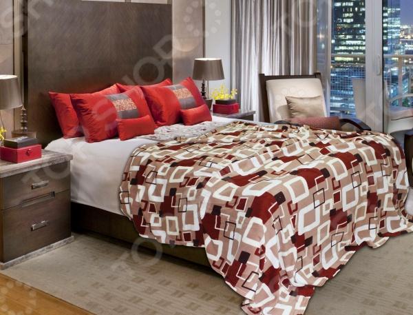 Плед Amore Mio SquareПледы<br>Плед Amore Mio Square прекрасно дополнит ваш диван или кровать. Он очень мягкий и приятный на ощупь, поэтому станет хорошей альтернативой легкому одеялу. Плед выполнен из микрофибры, обладающей обширным списком достоинств. Материал практически не мнется, не требует особого ухода, не линяет и не выцветает. При этом ткань не оставляет волокон даже после интенсивного использования. Микрофибра хорошо впитывает влагу, однако жидкость не проникает внутрь волокна. В результате влага не задерживается внутри материала. Плед быстро высыхает после стирки.<br>
