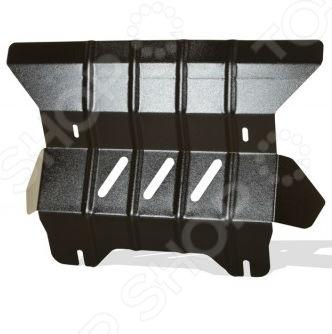 Комплект: защита раздатки и крепеж Novline-Autofamily SsangYong Actyon NEW 2011: 2,0 дизель/ бензин МКПП/АКППЗащита картера двигателя<br>Комплект: защита раздатки и крепеж Novline-Autofamily SsangYong Actyon NEW 2011: 2,0 дизель бензин МКПП АКПП защитный набор для автомобильного двигателя и раздаточной коробки, весьма актуальный в условиях бездорожья. Установленный комплект представлен в виде металлической конструкции, чьей основной функцией является предотвращение механических повреждений во время наезда на препятствие. Изделие имеет дополнительные ребра жесткости для большей прочности. Крепежные элементы выполнены из холоднокатаной стали с катодно-цинковым и порошковым покрытиями против ржавчины и заедания резьбы при установке. Элементы защиты легко устанавливаются, не нарушая температурный режим и выхлопную систему машины. Современный метод 3D-сканирования позволил индивидуально разработать данный комплект ЗР специально для автомобиля Ssang Yong Actyon NEW. Высокоточные лазерные резаки и современные способы покраски гарантируют высокое качество изделия. В крепеже предусмотрены отверстия для слива масла, облегчая тем самым техническое обслуживание. Специальные демпферы предотвращают возникновение вибрации во время движения, надежно оберегая нижнюю часть кузова от ударов и трений с защитой. Товар, представленный на фотографии, может незначительно отличаться по форме от данной модели. Фотография представлена для общего ознакомления покупателя с цветовым ассортиментом и качеством исполнения товаров данного производителя.<br>