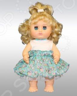 Кукла Весна «Любочка 9»Куклы<br>Кукла Весна Любочка 9 - станет прекрасным подарком для вашей девочки. Кукла одета в нарядное платье из трикотажа, шифона и кружевного полотна, которое не оставит равнодушной ни одну девочку, а ее волосики уложены в очаровательную прическу. Глазки куколки закрываются. Игры с куклой способствуют развитию фантазии, воображения и абстрактного мышления. Играя в куклы, дети, как правило, копируют поведение взрослых общаются теми же словами, так же ухаживают, учат, воспитывают. Поэтому игры в куклы имеют важное значение для взросления ребенка и формирования его психики. Кукла изготовлена из высококачественных экологически чистых материалов, абсолютно безопасных для ребенка.<br>
