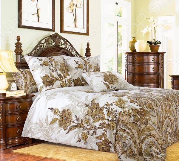 цена Комплект постельного белья Королевское Искушение «Музей-4» 1710238 онлайн в 2017 году