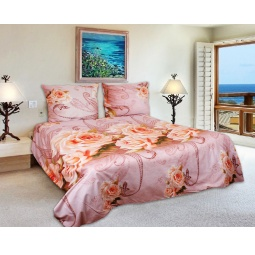 фото Комплект постельного белья Amore Mio Unison. Mako-Satin. 1,5-спальный
