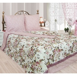 фото Комплект постельного белья Сова и Жаворонок «Розалия». 2-спальный. Размер простыни: 195х220 см