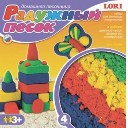 Купить Набор для лепки из песка Lori «Радужный песок» 29856