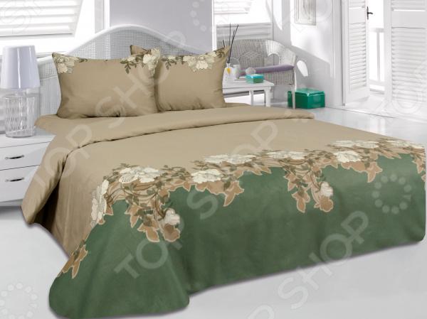 Комплект постельного белья Tete-a-Tete «Хлоя». ЕвроЕвро<br>Комплект постельного белья Tete-a-Tete Хлоя это незаменимый элемент вашей спальни. Человек треть своей жизни проводит в постели, и от ощущений, которые вы испытываете при прикосновении к простыням или наволочкам, многое зависит. Чтобы сон всегда был комфортным, а пробуждение приятным, мы предлагаем вам этот комплект постельного белья. Приятный цвет и высокое качество комплекта гарантирует, что атмосфера вашей спальни наполнится теплотой и уютом, а вы испытаете множество сладких мгновений спокойного сна.  Комплект выполнен из ткани, состоящей на 100 из хлопка, и обладает следующими преимуществами:  Мягкий и приятный на ощупь материал отличается высокой гигроскопичностью и хорошо пропускает воздух.  Рисунок нанесен на ткань с применением современных технологий 3D печати, что делает его не только выразительным, но и долговечным. Благодаря специальному активному красителю ткань долго не утратит своей яркости, а рисунок выразительности линий.  Натуральный материал гипоаллергенен и безопасен для здоровья.  Особое переплетение нитей ткани повышает устойчивость к легким механическим повреждениям.  Тип ткани сатин. Имеет гладкую и шелковистую лицевую поверхность с легким блеском. Практически не мнется и не деформируется. Перед первым применением комплект постельного белья рекомендуется постирать. Перед этим выверните наизнанку наволочки и пододеяльник. Для сохранения цвета не используйте порошки, которые содержат отбеливатель. Рекомендуемая температура стирки 30 С и ниже без использования кондиционера или смягчителя воды. Обновите свою кровать таким комплектом постельного белья, и интерьер вашей комнаты заиграет новыми красками.<br>