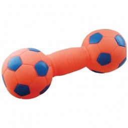 фото Игрушка для собак ЗООНИК «Гантель-футбольная»