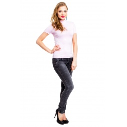 фото Водолазка Mondigo 037. Цвет: бледно-розовый. Размер одежды: 42