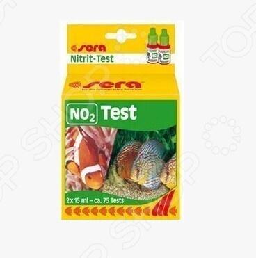 Тест для аквариумной воды Sera Nitrite-Test NO2