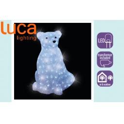 фото Фигура светящаяся Luca Lighting «Медведь с эффектом мерцания»