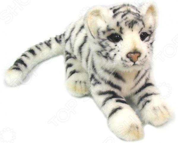 Мягкая игрушка Hansa «Детеныш белого тигра» у кого какой детеныш книжка игрушка