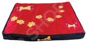 Лежак для собак DEZZIE 5615956Домики. Лежаки. Подстилки для собак<br>Лежак для собак DEZZIE 5615956 это удобный лежак для собак, который необходим в доме, это обусловлено тем, что любой член семьи должен иметь свое спальное место. Лежак представляет собой вместительный и устойчивый каркас, который сделан из полиэстера и отличается повышенной износостойкостью. Такой материал будет тяжело порвать зубами или расцарапать. Подушка имеет съемный чехол на молнии, легко моется стиральной машине. Подобный мини-диванчик даст четвероногому любимцу почувствоваться себя в комфорте и спокойствии, ведь для них очень важно иметь собственное место в доме. Кроме того, интересный дизайн лежака легко впишется в любой интерьер и порадует не только вашего любимца, но и вас. Выбирайте лежак в зависимости от размеров вашего питомца.<br>