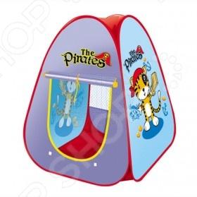 Палатка игровая Shantou Gepai Пират это удобная детская игровая палатка, которая выполнена в оригинальном дизайне. Палатка легко собирается и разбирается. В палатку без проблем поместится несколько детей, она достаточно безопасна, так как не имеет острых углов. Палатку можно поставить как в комнате, так и на природе. Летом эта палатка может стать прекрасным дополнением для уличных игр если разместить ее в саду или на заднем дворике.