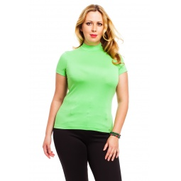 фото Водолазка Mondigo XL 037. Цвет: салатовый. Размер одежды: 50
