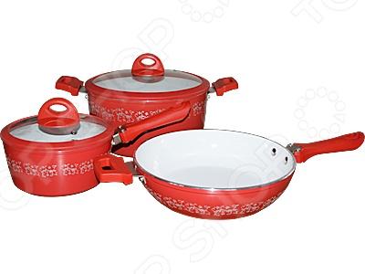 Набор посуды для готовки POMIDORO Primavera Fiori Set