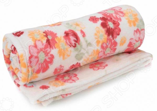 Плед ТексДизайн «Герберы»Пледы<br>Плед ТексДизайн Герберы прекрасно дополнит ваш диван или кровать. Он очень мягкий и приятный на ощупь, поэтому станет хорошей альтернативой легкому одеялу. Плед выполнен из велсофта, обладающего обширным списком достоинств. Материал практически не мнется, не требует особого ухода, не линяет и не выцветает. При этом ткань не оставляет волокон даже после интенсивного использования. Велсофт хорошо впитывает влагу, однако жидкость не проникает внутрь волокна. В результате влага не задерживается внутри материала. Плед быстро высыхает после стирки.<br>