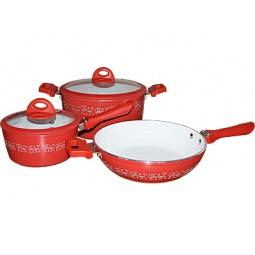 Купить Набор посуды для готовки POMIDORO Primavera Fiori Set
