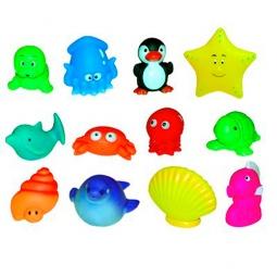 фото Набор игрушек для ванны Ludi «12 животных»