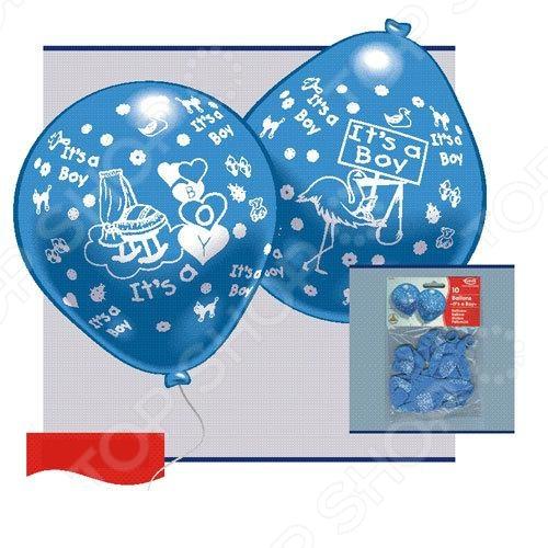 Набор надувных шариков Everts «Рождение малыша-мальчика»