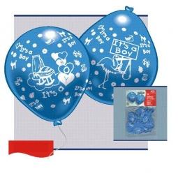 Купить Набор надувных шариков Everts «Рождение малыша-мальчика»