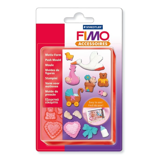 фото Набор формочек для лепки Fimo «Младенец»