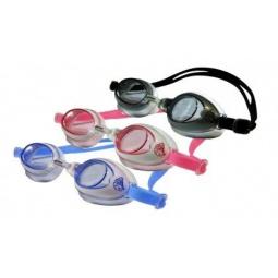 фото Очки для плавания Larsen DR15. Цвет: розовый