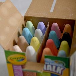 Купить Мелки для рисования Crayola «Washable sidewalk chalk»