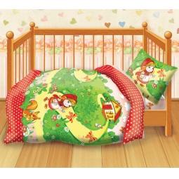 Купить Детский комплект постельного белья Кошки-Мышки Красная шапочка