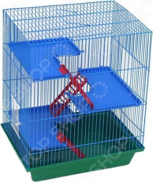 Клетка для грызунов ZOOmark «Гризли-4»