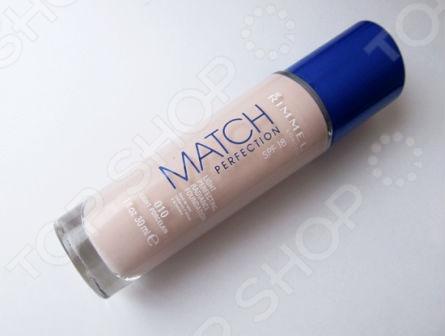 Тональный крем Rimmel Match Perfection крем тональный для лица spf 18 rimmel match perfection 30 мл тон 200 soft beige