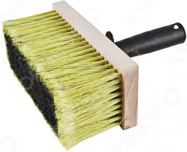 Макловица РОС с деревянным корпусомРолики. Кисти. Валики. Щетки<br>Макловица РОС с деревянным корпусом отличная кисть для равномерного нанесения лакокрасочных материалов на масляной основе. Щетина устойчива к различным видам краски, что обеспечивает долговечную и результативную работу. Применяются для размывания потолков, грунтовки и беления поверхностей. Более эффективно вбирают краску. Особенности:  Искусственная щетина,  деревянный буковый корпус,  полая пластиковая ручка.<br>