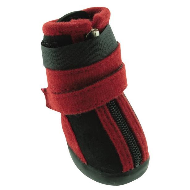 фото Обувь для собак DEZZIE «Бонапарт». Размер: 3 (7,1х4,4 см)
