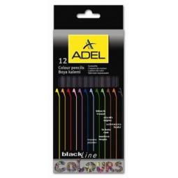 Купить Набор карандашей цветных ADEL BlacklineNB 211 2316 000