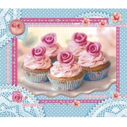 фото Полотенце вафельное ТексДизайн «Пирожное»