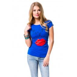 фото Футболка Mondigo 8440. Цвет: синий. Размер одежды: 46