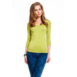 фото Кофта Mondigo 023. Цвет: зеленый. Размер одежды: 46