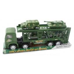 фото Набор машинок инерционных Shantou Gepai «Автовоз военный»