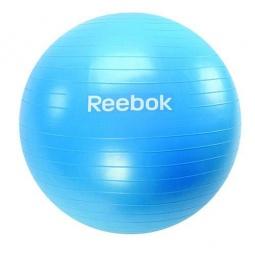 фото Мяч гимнастический Reebok. Размер: 75 см. Цвет: голубой