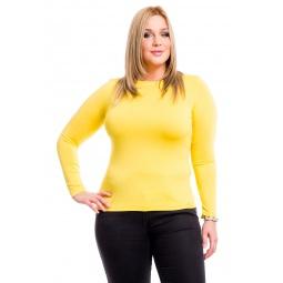 фото Кофта Mondigo XL 405. Цвет: желтый. Размер одежды: 48