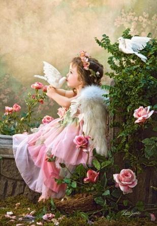 Пазл 1000 элементов Castorland «Поцелуй Ангела»