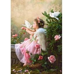 Купить Пазл 1000 элементов Castorland «Поцелуй Ангела»