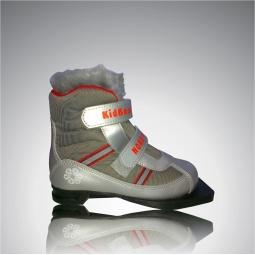 фото Ботинки лыжные Larsen Kids Velcro. Размер: 37