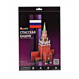 Купить Пазл 3D мини CubicFun «Спасская башня»