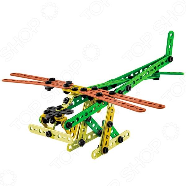 Конструктор игрушечный Meccano Гидросамолет прекрасный подарок для юного конструктора! Игровой набор не только обучает и развлекает, но и помогает развивать мелкую моторику рук, логическое мышление и воображение ребенка. Комплект содержит детали и инструменты гаечный ключ и отвертка , с помощью которых можно собрать оригинальную модель для игры. Из этих деталей можно создать несколько видов транспорта. Все детали выполнены из нетоксичных полимерных материалов, поэтому полностью безопасны для ребенка.