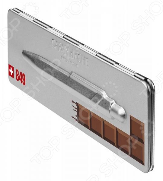 Ручка шариковая в подарочной коробке Carandache Office Essentialy Swiss Chocolate ручка carandache 4789 770