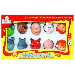 Купить Набор для кукольного театра Весна пальчиковый 2