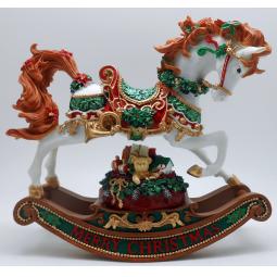 Купить Музыкальная шкатулка Crystal Deco «Лошадка-качалка» 1707568